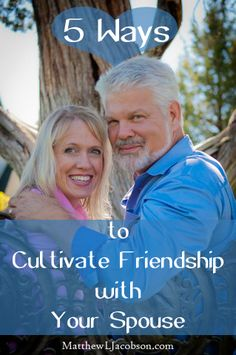 I'm blessed to have a strong friendship with my wife. Here I'm sharing 5 ways we cultivate our friendship with each other.