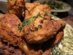 Ultimate Fried Chicken by Tyler Florence | recipe from Kalofagas
