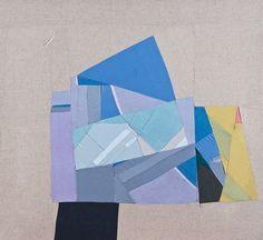 Jessica Bell - Textile assemblage on fir frame