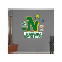 Fathead Minnesota North Stars Wall Decals, Multicolor