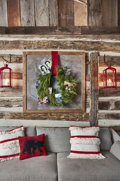 Country Rustic Christmas Bohemian Christmas, Cabin Christmas, Rustic Christmas, Christmas Crafts, Christmas Ideas, Merry Christmas, Christmas Time, Natural Christmas, Christmas Photos