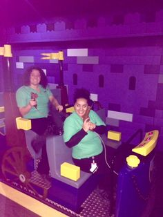 Sandra Pate & Shiba Fahr @ LEGOLAND Discovery Center Toronto #LDCTOR #KingdomQuest #Fun #ForTheLoveOfFun