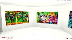"Video ""The spaces in between"" my virtual gallery"