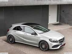 New Generation Mercedes-Benz A-Class Sets New Benchmark for Compact Cars Mercedes A Class, Mercedes Benz Cars, A Class Amg, A45 Amg, M Benz, Daimler Ag, Top Cars, Car Lights, Motor Car