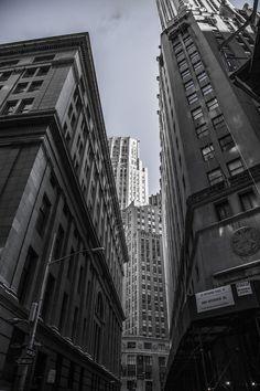 Grattacieli, New York, Centro Città, Metropole, Edifici