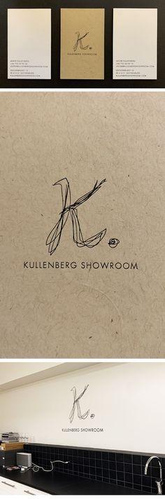Kullenberg Showroom, visual id (brand strategy, logotype, visual identity, printed matter) Printed Matter, Visual Identity, Hair Accessories, Silver, Prints, Corporate Design, Hair Accessory, Money