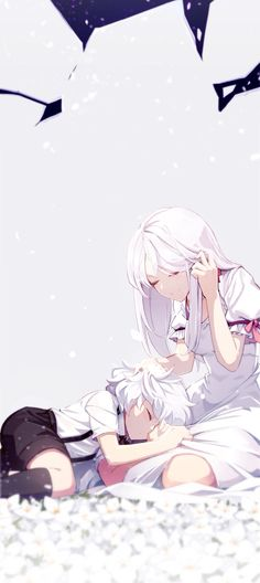 ☆ #AnimeTime ☆ Elsword Add<<<< Little Add and his mother.... Poor Add lost everything