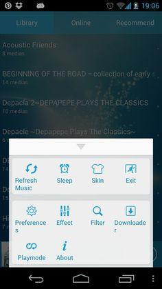 TTpod menu drawer