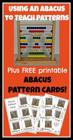 using an abacus to teach patterns