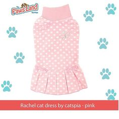 #checkitout  Why We Love It:  Chasing butterflies just got easier with the Rachel Cat Dress by Catspia with a butterfly and bows on this cute polka dot dress. Made of 100% polyester.Why cats need to dress up:  Prevents hair fluffing  Reduces hair grooming and prevents hair balls  Decrease of stress and shiver after grooming  Unlike dogs adapting clothes to cats are not easy. A temporary phenomenon that cats will first walk sideways or become stiff. though cats will adapt clothing within 3 to…