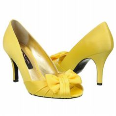 Nina canary yellow shoes