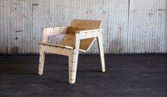 OpenDesk - Object Guerilla - Zip Tie Lounge Chair