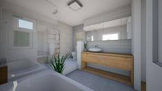 Roomstyler.com - ensuite Room, Alcove, How To Plan, Home, Alcove Bathtub, Ensuite, Home Reno, Bathroom, Bathtub