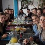 Lindonas do Circolare e amigas almoçando no Marakuthai SP. Muito bom !