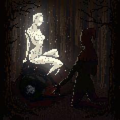 pixelated memories - waneella