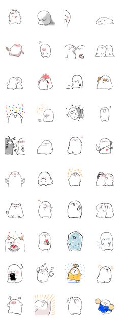 All time cute doodle.The kind that you can do when you're bored or need some inspiration. Kawaii Drawings, Cute Drawings, Drawing Sketches, Kawaii Doodles, Cute Doodles, Cute Illustration, Character Illustration, Japanese Drawings, Tumblr Backgrounds