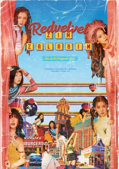 You know who it is Coming 'round again You want a dose of this Right now It's K/DA Velvet Wallpaper, K Wallpaper, Retro Graphic Design, Graphic Design Posters, Poster Designs, Bts Poster, Red Velvet, Popteen, Kpop Posters