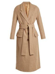 1b877234e4fd Manteau en laine mélangée Cade   Acne Studios   MATCHESFASHION.COM FR  Herringbone Coat,