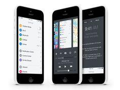 """iOS 8 Mission Control: iOS 8 Konzept zum Ausprobieren (Video)! - http://apfeleimer.de/2014/02/ios-8-mission-control-ios-8-konzept-zum-ausprobieren-video - Auch wenn iOS 8 wohl frühestens im Spätjahr mit einem entsprechenden Endgerät (iPhone 6 oder iPhone Air) das Tageslicht erblicken wird. In diesem Video sehen wir ein iOS 8 Konzept mit Mission Control. Steuerung über Swipe-Gesten und Multitasking bzw. """"Mission Control"""" direkt im Con..."""