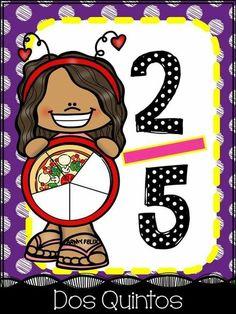 תמונה Teaching Multiplication, Math Fractions, Teaching Math, Maths, Learning Time, Kids Learning Activities, Fraction Activities, Math School, School Posters