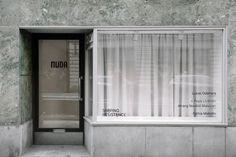 Home - Frida Vega Salomonsson's Portfolio Shop Front Design, Bathroom Medicine Cabinet, Home, Arch, Paper, Image, Longbow, Ad Home, Homes