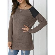 SHARE & Get it FREE | Street Snap Color Block SweaterFor Fashion Lovers only:80,000+ Items • FREE SHIPPING Join Twinkledeals: Get YOUR $50 NOW!