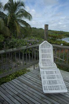Playa Manglares, hostaria: Terraza abierta al paisaje