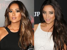 Celebs' Hair Color Updates: Vanessa Hudgens' Blue-Green Hair Color, Shay Mitchell's Blond Ombré Locks | E! Online Mobile
