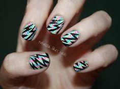 rebecca likes nails: geometric goodness--LOVE!!!