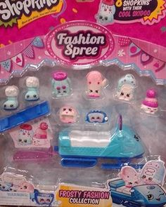 Shopkins new frosty fashion collection