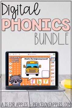 Practice beginning and ending sounds with these digital phonics activities! For use with Google Slides, PowerPoint, and Seesaw.