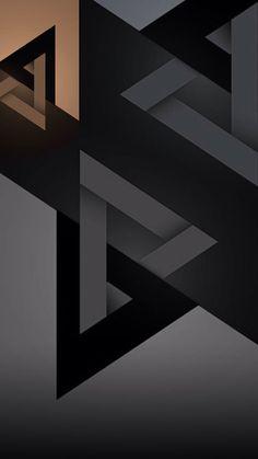 Wallpaper computer black Ideas for 2019 Black Phone Wallpaper, Abstract Iphone Wallpaper, Phone Screen Wallpaper, Graphic Wallpaper, Geometric Wallpaper, Dark Wallpaper, Cellphone Wallpaper, Mobile Wallpaper, Pattern Wallpaper
