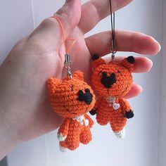 Crochet Cat Keychain Keys New Ideas Crochet Toys Patterns, Amigurumi Patterns, Stuffed Toys Patterns, Crochet Dolls, Cat Keychain, Crochet Keychain, Crochet Earrings, Crochet Lion, Crochet Baby