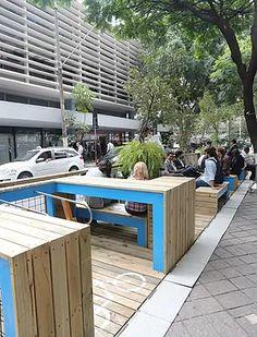 Zoom Urbanismo Arquitetura e Design   parklet padre joão manuel