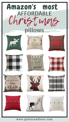 Don't hate me, but it's October and I am SO ready to deck the Target Christmas Decor, Amazon Christmas, Farmhouse Christmas Decor, Christmas Pillow, Christmas Ideas, Christmas Decorations, Christmas Inspiration, Holiday Fun, Holiday Ideas