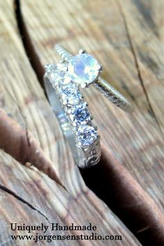 you have your own style and your bridal set should show it. Unique handmade engagement and wedding rings from Jorgensen Studio. Custom orders always welcomed. Click for more styles.