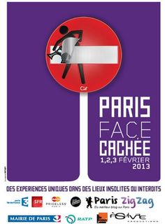 Inscrivez vous pour l'une des activités de la manifestation Paris Face Cachée 2013  http://www.pariscotejardin.fr/2013/01/inscrivez-vous-pour-l-une-des-activites-de-la-manifestation-paris-face-cachee-2013/