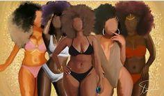 Shades of beautiful blackness