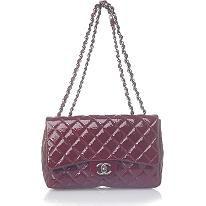 I want!  #BBOSBrandBurst  Oxblood you say? Chanel Classic 2.55 Quilted Burgundy Evening Handbag