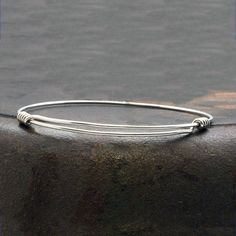 Excited to share the latest addition to my #etsy shop: Sterling Silver Bracelet, Man/Woman Adjustable Bangle, Thin Sterling Wire Bangle Bracelet, Minimalist Silver Expandable Bracelet #silver #birthday #yes #unisexadults #minimalist #adjustablebangle #adjustablebracelet #mensbangle #expandablebracelet Sterling Silver Bracelets, Silver Necklaces, Silver Earrings, Bracelets For Men, Bangle Bracelets, Bangles, Greek Jewelry, Fine Jewelry, Adjustable Bracelet