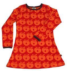 Smafolk jurk appels rood