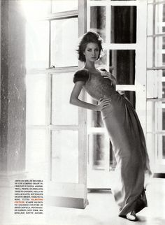 Кристина Тарлингтон: Christy Turlington by Steven Meisel