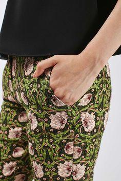 Woodland Twine Crop Trouser