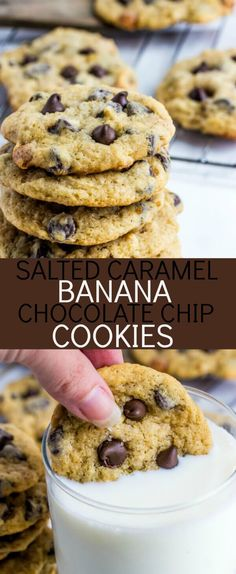 Who can resist the salted caramel? Throw in a little banana a chocolate while you're at it and you have yourself these irresistible Salted Caramel Banana Chocolate Chip Cookies. So Spring Break starts today for my kids. I still have today and all next week off from my daycare kids[Read more]