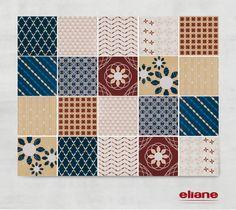 Patchwork Floral #revestimento #azulejo #tile