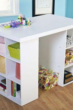 Craft & Storage Table.