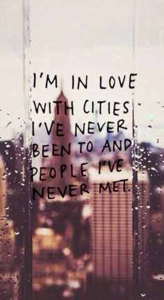 Paper Towns quote that is NOT in Paper Towns but i like it anyway!