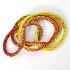 Bead crochet by Claire Kahn