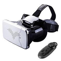60ab0aad5694 Amazon.com  Riem III VR Glasses with Remote Controller