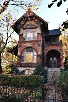 A residence in Chicago, Illinois. Not haunted or abandoned, just a beautifully creepy